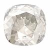Swarovski Stones 4470 Square 10mm Moonlight Crystal 12pcs